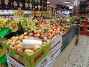 Ważenie owoców i warzyw